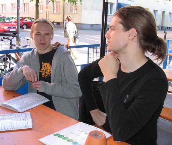 Petri Purho and Daniel Brynolf