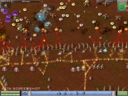 Tempest Missile exploding
