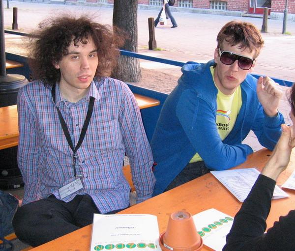 Erik and Martin