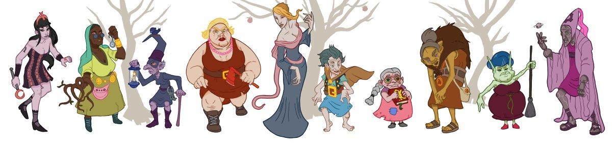 Agatha Ragata Characters